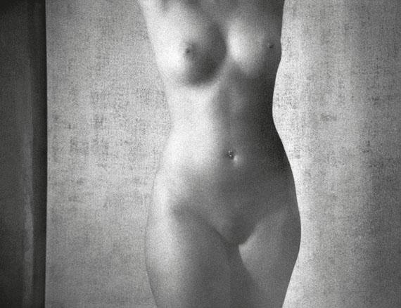 René Groebli: Nude #880, 2002Gelatin silver print, 30 x 40 cm, edition of 7