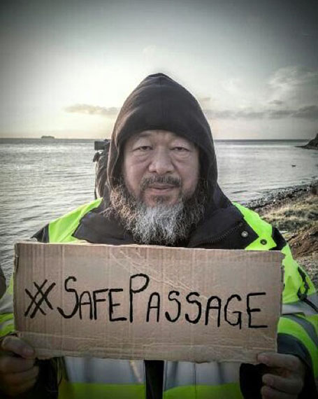 #SafePassage, Facebook. Ai Weiwei Camps