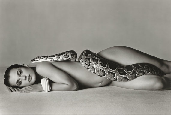 Richard Avedon: Nastassja Kinski and the serpent, Los Angeles, 1981