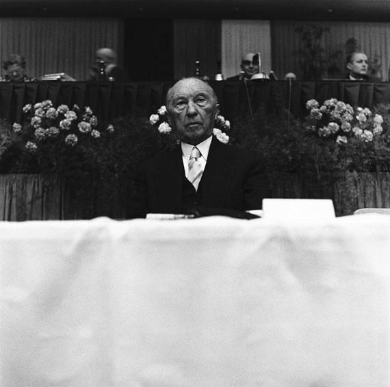 Lothar Wolleh: Konrad Adenauer, Köln, April 1961