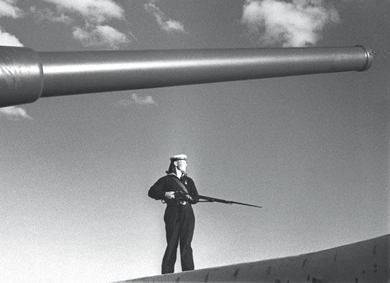 Yakov Khalip. On the alert. Baltic Fleet. 1936