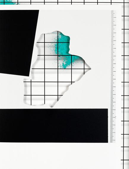 """Samuel Henne""""untitled #04"""", aus """"displacements""""Cut-Out und Fine Art Print40 x 30 cm (*Ausschnitt), 2016"""