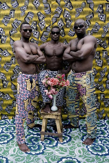 Untitled (Musclemen series), 2012 © Leonce Raphael Agbodjelou