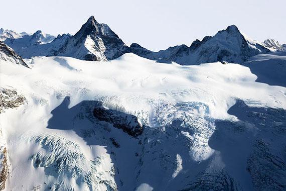 La montagne s'ombre