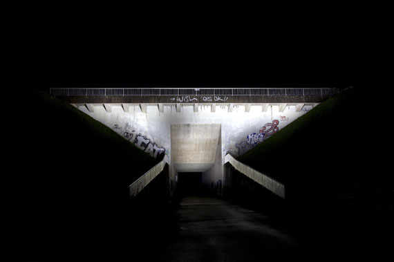 Ralf Peters: Brücke 2, 2010, 160 x 220 cm, C-Print/Diasec