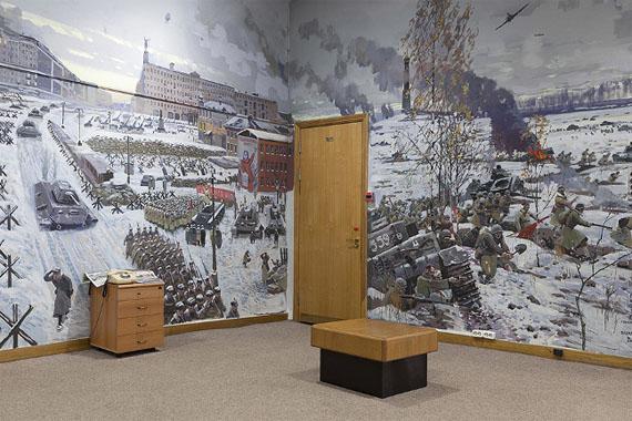 Katharina Gruzei: War Room 2 - Moscow Diorama aus der Serie WAR ROOMS