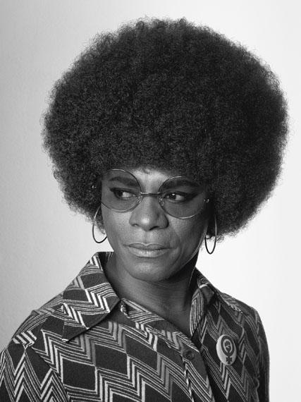 """Samuel Fosso: Angela Davis, aus der Serie """"African Spirits"""", 2008© Samuel Fosso, Art Collection Deutsche Börse"""
