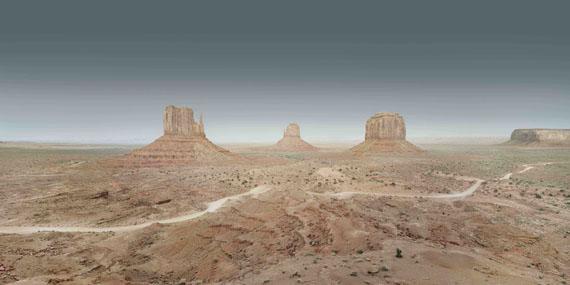 Francesco Jodice: Monument Valley #016, 2015,  aus der Serie: Sunset Boulevard