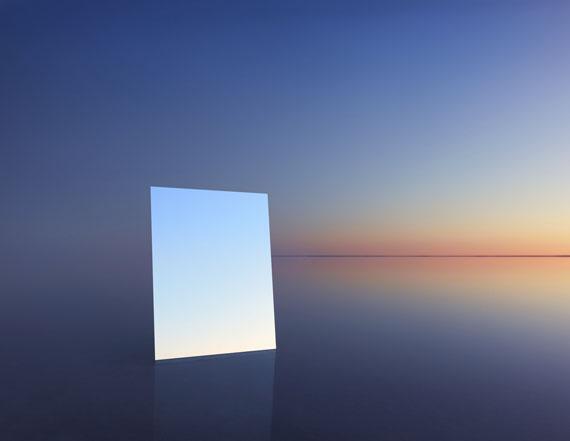 Mirror 13, 2017 © Murray Fredericks