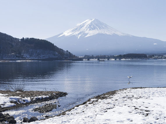 Raoul Ries: Thirty-Six Views of Mount Fuji 16 (Azagawa, Kawaguchi), 2015-2016