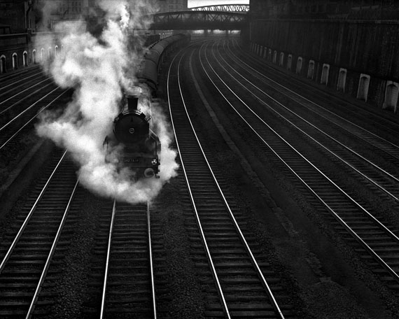 © René Groebli: Rail Magic (No. 394), 1949
