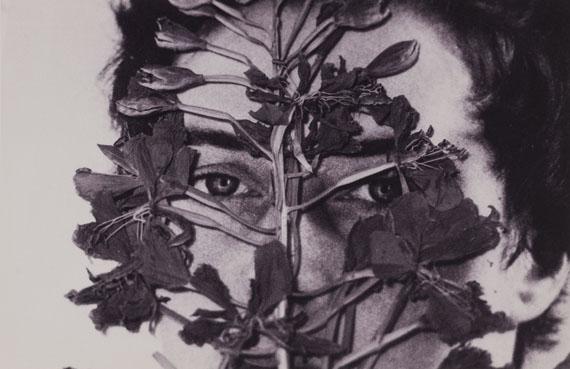 Inge Morath: Collage mit einem frühen Foto von Inge Morath, 2001