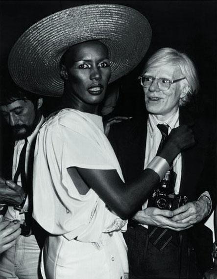 Grace Jones and Andy Warhol, Studio 54, New York, 1978 © Ron Galella, Ltd.
