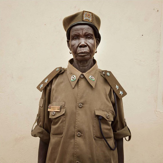 Becoming South Sudan Chapter I: Portraits Chief, 2011 © Alinka Echeverría / Courtesy Ravestijn Gallery Amsterdam