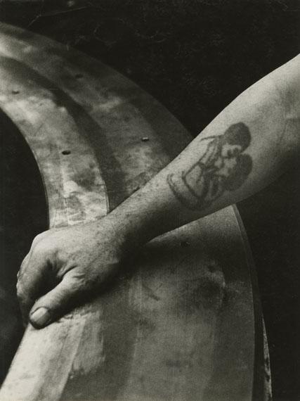 """Amore"", Maschinenfabrik Oerlikon, 1940er-Jahre © Jakob Tuggener-Stiftung"