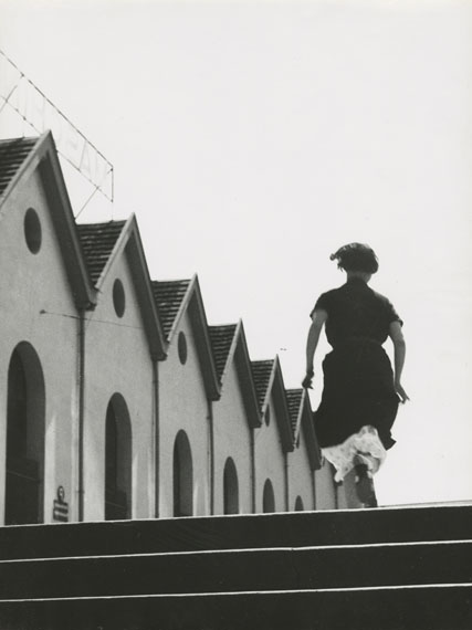 Laufmädchen in der Maschinenfabrik Oerlikon, 1934© Jakob Tuggener-Stiftung