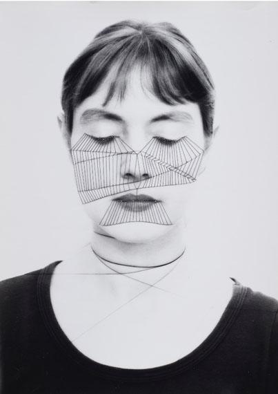 Annegret Soltau, Selbst, 1975, Sewn Photograph, 40 x 30 cm
