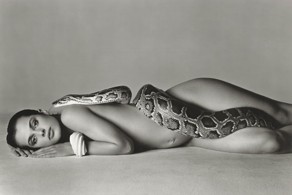 Richard Avedon, Nastassja Kinski and the serpent, Los Angeles 1981