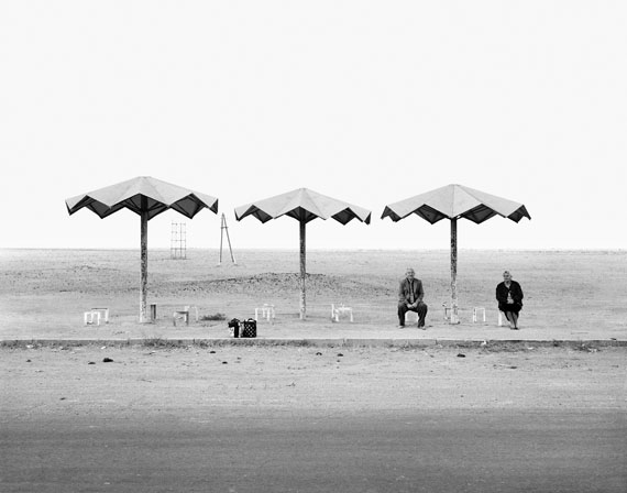 Ursula Schulz-DornburgEveran – Gyumri (aus der Serie: Transit Orte, Armenien), 2004Bartyabzug, 44,7 x 34,8 cmArchiv der Künstlerin© Ursula Schulz-Dornburg