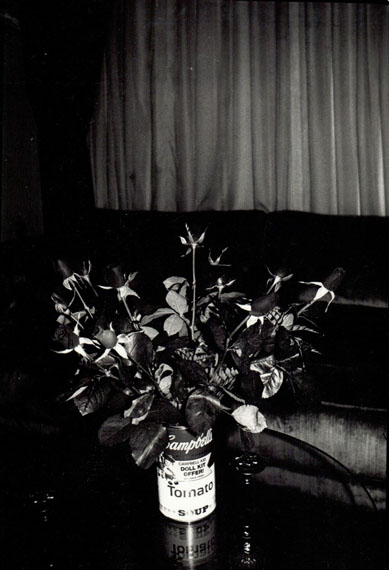 Andy Warhol, 'Roses in Campbell's Tomato Soup Can', 1980, © Estate of Andy Warhol, Courtesy SAGE Paris