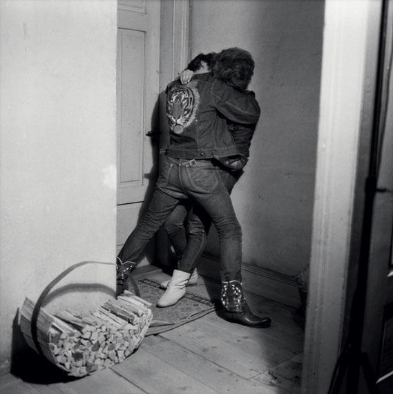 Karlheinz Weinberger, No. 6206180, Halbstarke, Zürich, vers 1962, tirage argentique posthume© Karlheinz Weinberger, courtesy Galerie Esther Woerdehoff