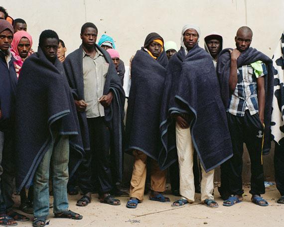 Detention center for migrants of Zawiya (Libya, December 2014) © Samuel Gratacap