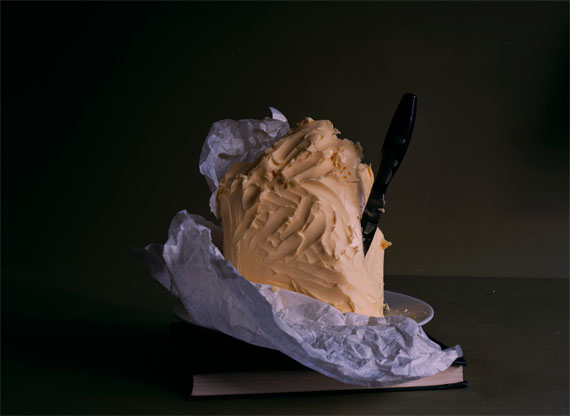 Olivier Richon: A Mound of Butter, 2016, C Type analogue, 60 x 42 cm, Edition 2/5