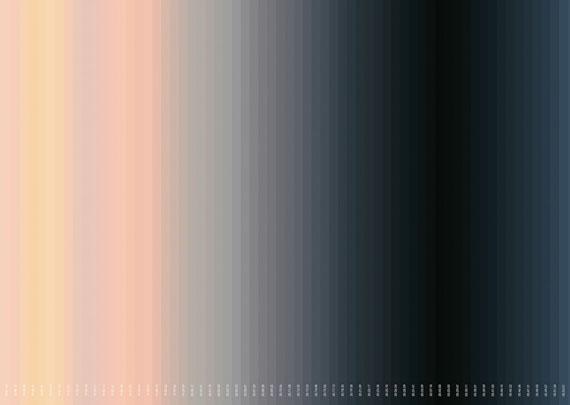 Inge Dick: frühlings licht weiss, 2015 (Ausschnitt)