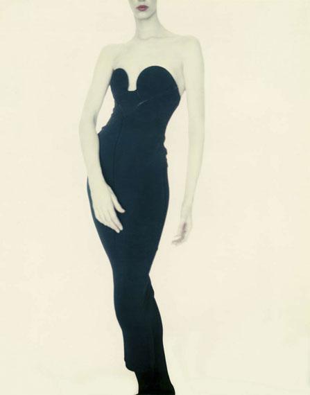 Paolo Roversi: Meg, Alaïa Dress, 1987©Paolo Roversi