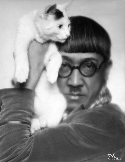 Madame d'Ora: Tsuguharu Foujita, 1927 © ullstein bild - d'Ora