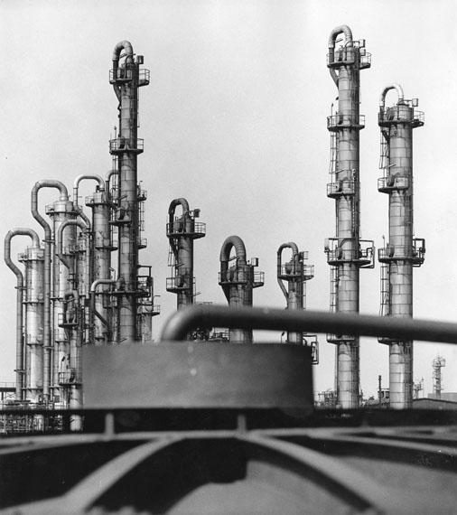 Rudolf Holtappel: Destillationskolonnen, 1971© LVR-Industriemuseum