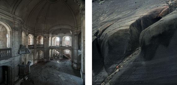 Gabriela Torres Ruiz#28 aus der Serie Silence (Diptychon), 2015 / 2013C-Print / Acryl / Alu-dibond100 x 200 cm / 2x (100 x 100 cm)