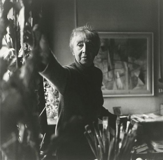 Floris Neusüss: Hannah Höch, 1962 © Floris Neusüss