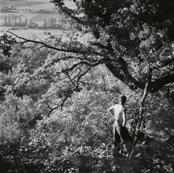 Hubert Fichte: Blick ins Land, 1960 Ditone Abzug Recom 55 x 60 cm, Auflage 6© Christian von Alvensleben