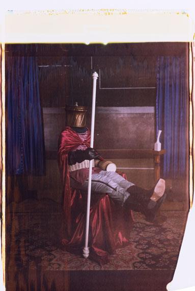 Se king - director's shot No 24, Polaroid Positiv 103 x 56 cm, 2017 © Thorsten Brinkmann