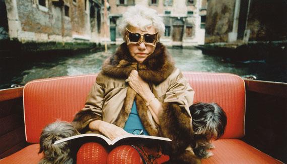 Stefan Moses, Peggy Guggenheim, Venedig 1969. Copyright 2018 Stefan Moses / Else Moses.