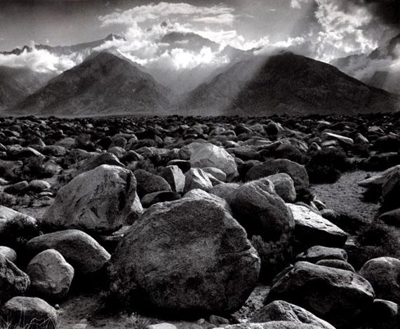 ANSEL ADAMSMount Williamson, Sierra Nevada, from Manzanar, CA, 1944Gelatin silver print© The Ansel Adams Publishing Rights Trust