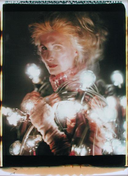 "Irene Andessner: ""Irrlichter"", aus dem Zyklus ""Milli Strubel"", 2000© Irene Andessner"