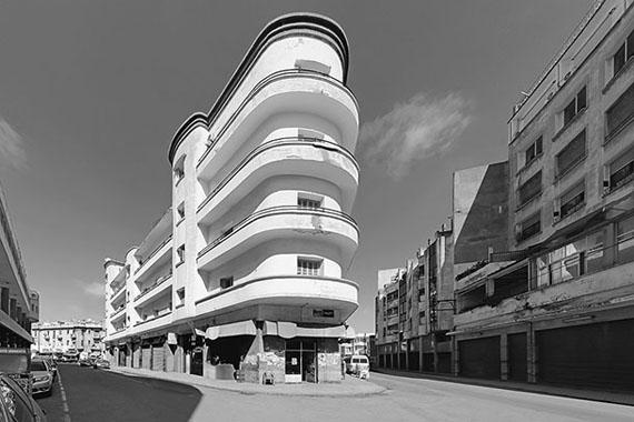 © Jean Molitor, Marokko, Casablanca, Wohnhaus Salomon Benajal, Joseph und Elias Suraqui, 1931