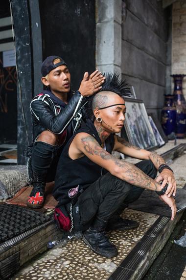 Punk auf Indonesisch