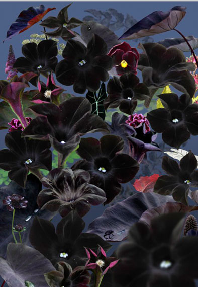 Ruud van Empel, Floresta Negra#1 (2018), 150 X 105cm, Archival pigment print