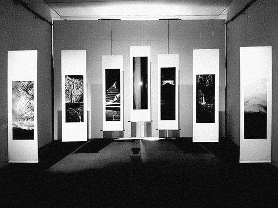 "Massimo Pastore: installation view of ""Kakemono"""