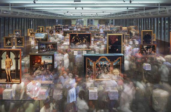 Michael WeselyApertura, Pinacoteca MASP»2 (19.01 – 23.09 Uhr 10.12.2015)C-Print, UltrasecG, Metallrahmen metal frame120 x 190 cm© Michael Wesely / VG-Bildkunst, Bonn 2019