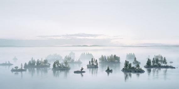 "Thomas Wrede: Früher Morgen bei den Korallenmoosinseln (from the series ""Real Landscapes""), 2016"