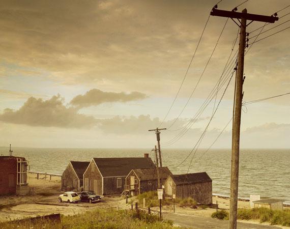 Alfred Seiland, Siedlung am Meer, Truro, Massachusetts, 1979