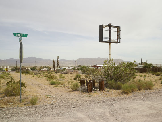 Roland Iselin: Orton Street Daggett, California