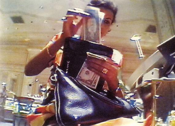 "© Merry Alpern, ""Shopping"" 1999"