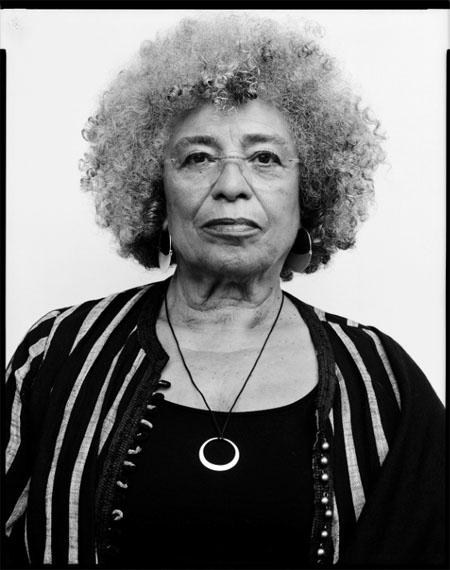 Angela Davis, civil rights movement activist, philospher, 24.6.201880 x 60 cm Baryt warmton© Oliver Abraham
