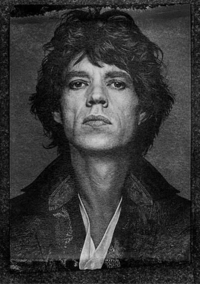 Mick Jagger, New York City, 1989, INK© Albert Watson