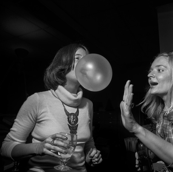 Larry Fink, New York Magazine Party, New Yprk City, October 1977